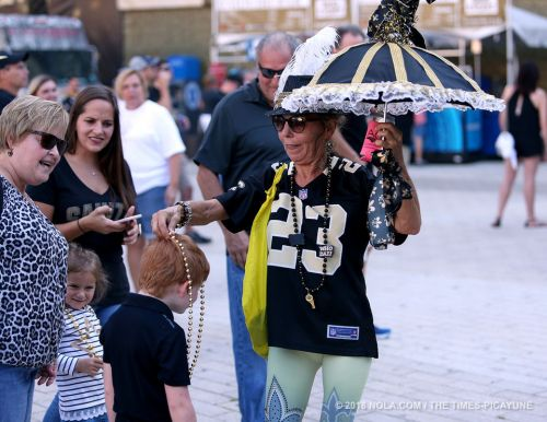 Saints fans ready for Browns showdown in Superdome