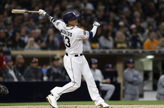 Lucchesi, Machado star for Padres in 2-0 win over Brewers