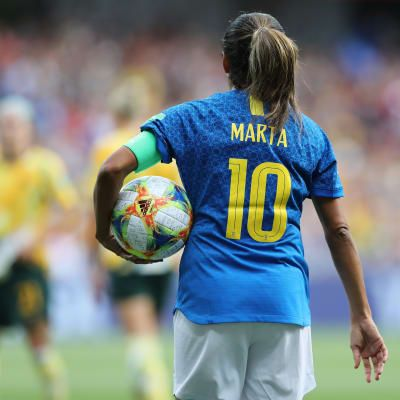 Marta: I still get very nervous before matches