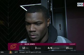 Jalen Jones will gladly play wherever the Cavs need him