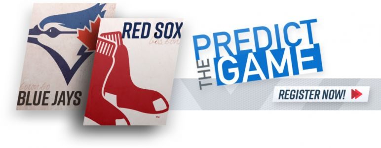 Play 'Predict The Game' During Red Sox-Blue Jays Game To Win Signed Ellis Burks Jersey