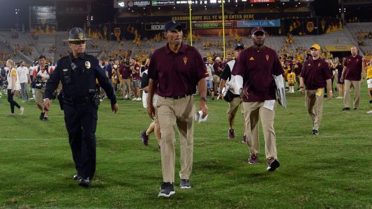 College football insider: With Herm Edwards and Arizona State, the joke's on us