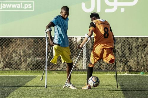Gaza amputees tackle new challenge on the football pitch