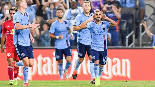 NYCFC edge Red Bulls, close on East leaders