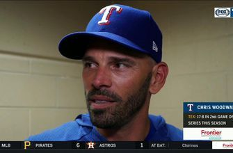 Chris Woodward on the Control of Mike Minor in 4-1 win