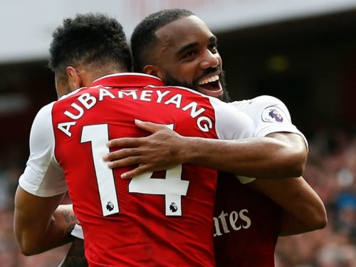 Lacazette: No competition with Aubameyang & I'd love it if he scores 40 goals