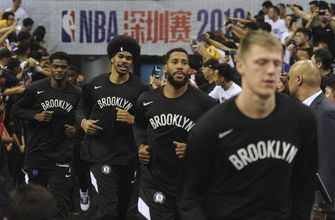 Back from China, Nets steer clear of controversy in remarks