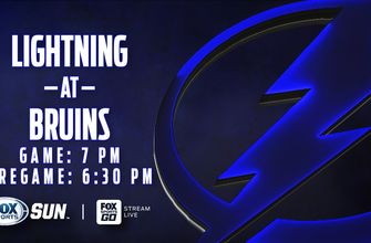 Preview: Lightning clash with Bruins for 1st time this season to wrap up road trip