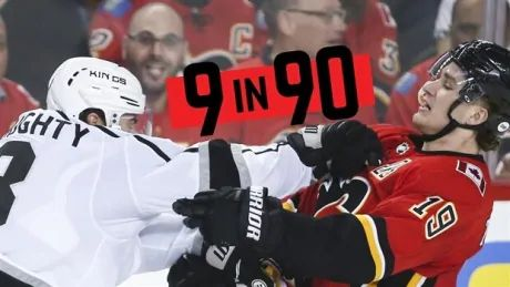 9 heated individualNHL rivalries..in 90 seconds