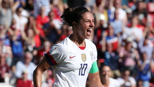 Women's World Cup 2019: U.S. star Carli Lloyd sets tournament scoring record