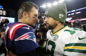 Skip Bayless and Rob Parker have heated discussion in a Tom Brady vs Aaron Rodgers dispute