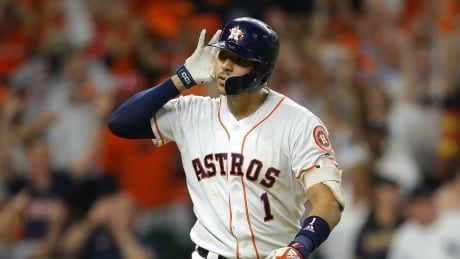 Astros even series thanks to Carlos Correa's walk-off homer in extras