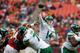 Sam Darnold steamrolls Redskins with 4 TD passes, 34-11