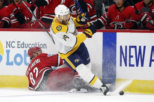 Preds sign Ekholm to 4-year, $25M extension