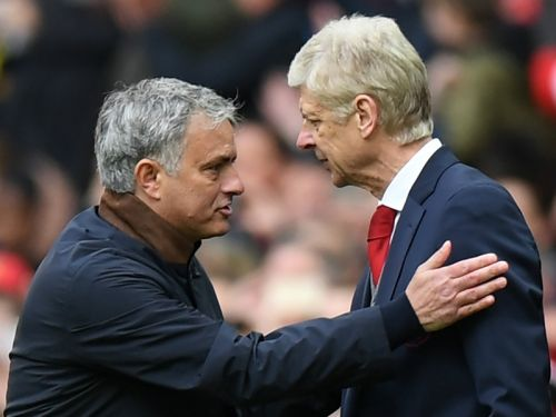 Friends now? Mourinho salutes Wenger as 'one of the best managers in football history'