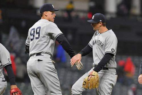 Yankees finally have something to feel good about