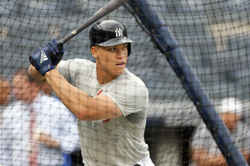 Yankees big shots gather for important Aaron Judge swings