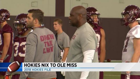 Hokies football loses assistant to Ole Miss