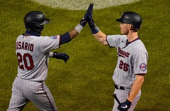 Twins' five-run 7th inning powers them past Cubs, 8-1