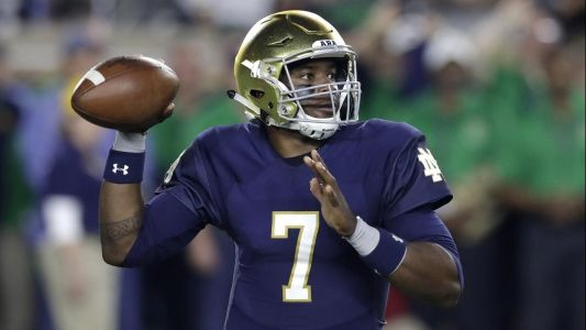 No kidding! Notre Dame QB Brandon Wimbush picks UCF over Penn State