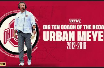 Urban Meyer was named 'Big Ten Coach of the Decade' by the Big Ten Network