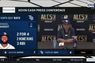 Kevin Cash talks after Rays drop Game 6 of ALCS to Houston
