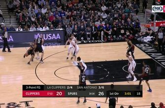 HIGHLIGHTS: Spurs top Clippers 125-87