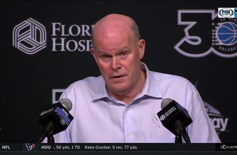 """Coach Steve Clifford describes tonight as a """"much needed team win"""""""