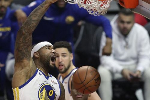Watch: Warriors' DeMarcus Cousins rips NCAA, offers Zion Williamson advice