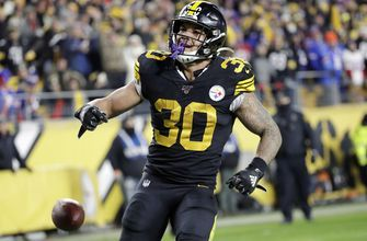 Steelers RB Conner focusing on present, not uncertain future