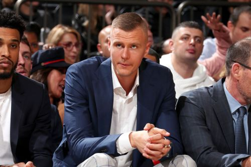 Fizdale throws a little cold water on possible Porzingis return