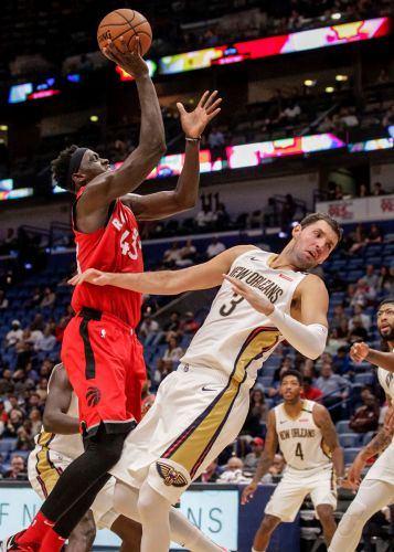 Siakam leads shorthanded Raptors to win over Pelicans to end pre-season