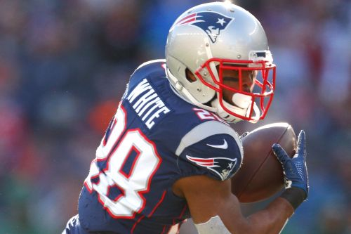 James White the Patriots' RB to play in DFS