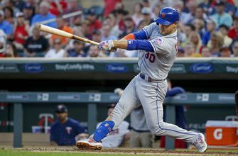 Conforto, Mets beat Twins 3-2 after surviving tense 9th