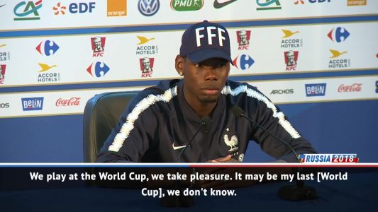 This might be my last World Cup so I want to win it - Pogba