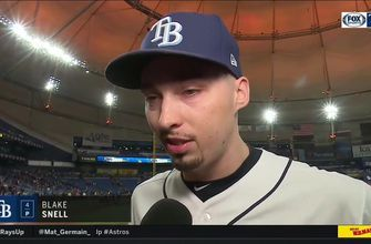 ALDS Game 4: Blake Snell on coming in as reliever vs. Astros