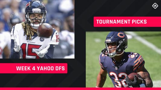Yahoo NFL DFS Picks Week 4: Daily fantasy football lineup advice for GPP tournaments