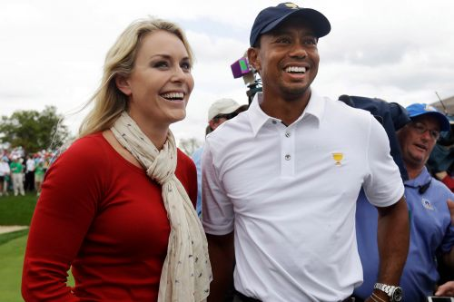 Lindsey Vonn reacts to Tiger Woods car accident