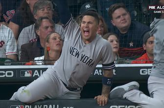 Gleyber Torres, Giancarlo Stanton each club homer to give Yankees 3-0 ALCS Game 1 lead