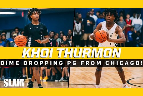 Khoi Thurman is a DIME DROPPING PG from Chicago! 👀
