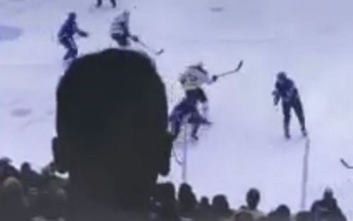 Fan's head causes Bruins-Leafs playoff TV outrage