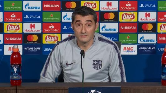 Barcelona always think about the Champions League final - Valverde
