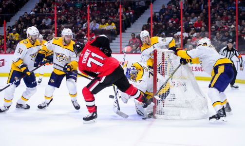 Chabot scores in OT, Senators recover to beat Predators 4-3