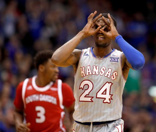 Lawson, Moore and No. 1 Kansas top overmatched South Dakota