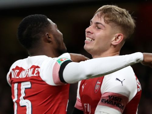 Arsenal's young guns to feature in Carabao Cup North London Derby