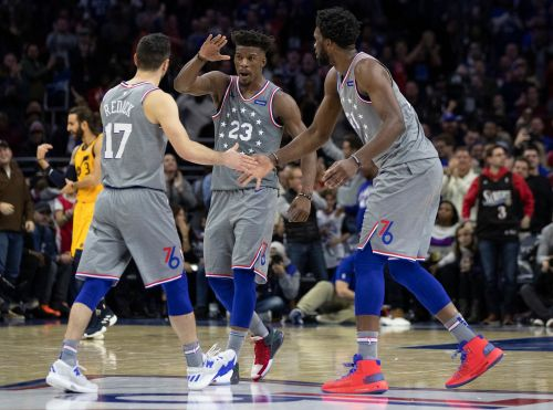 Jimmy Butler wins 76ers home debut, then takes dig at T'wolves