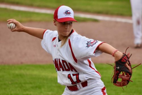 Baseball World Cup experience comes in handy for teen Alli Schroder as Canadian women work toward a return trip