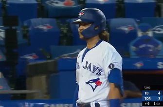 Bo Bichette homers in fourth straight game, gives Blue Jays 7-4 lead over Rays