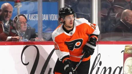 Flyers forward Travis Konecny out with concussion