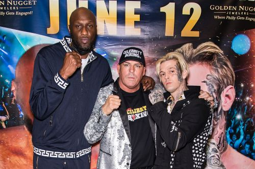 Lamar Odom on Aaron Carter Fight: 'I'm Gonna Put Him to Sleep Early'